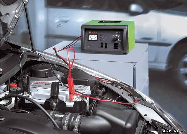 Мигающий индикатор заряда аккумулятора