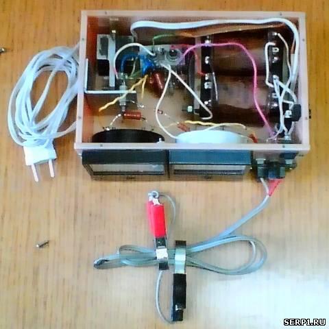 Приставка к зарядному для защиты аккумулятора