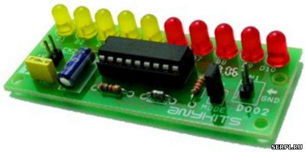 Схема индикатора зарядки аккумулятора фото 819