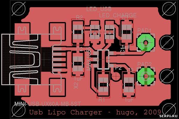 Зарядное устройство MINI USB