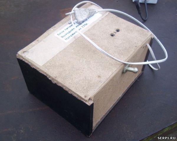 Выпрямитель тока на 12 вольт