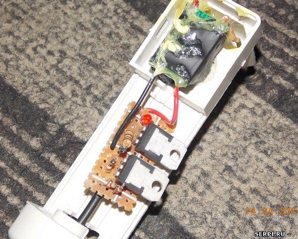 Простое ЗУ для литиевых аккумуляторов